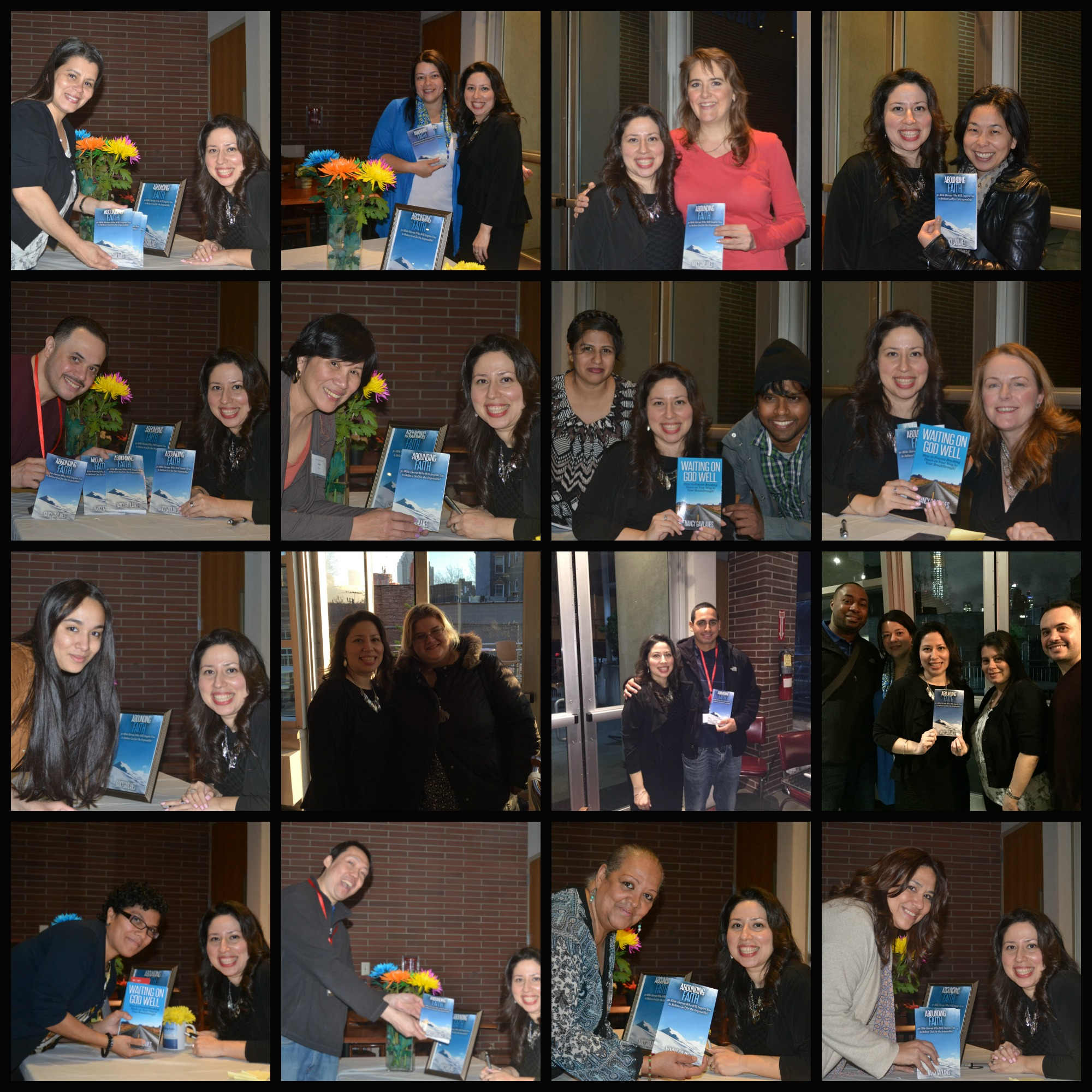 Book 2 Launch collage 4-17-16